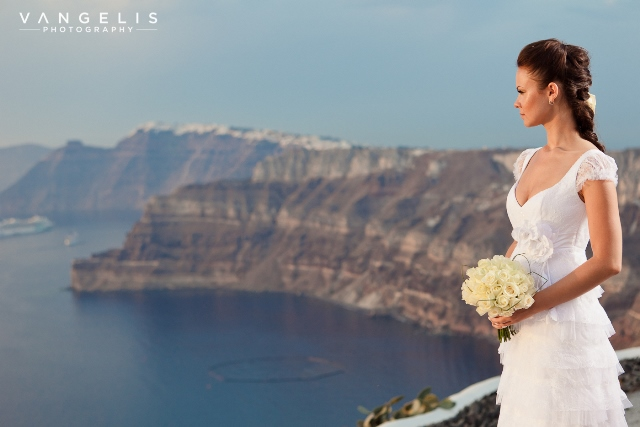 vangelis photgraphy santorini wedding